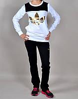 Женский спортивный костюм Adidas 7050 белый