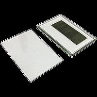 Акриловый магнит на холодильник прямоугольный под вкладыш