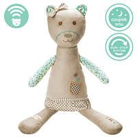 Myhummy - успокаивающая музыкальная мягкая игрушка с белым шумом. Девочка коричневая