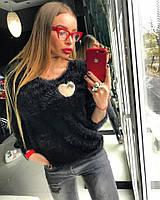 Стильный модный свитер женский