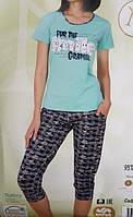 """Женская пижама """"Nicoletta"""" №82395 (капри)"""