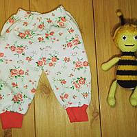 Детские штаны для девочки рр. 62-80 Beebaby (Бибеби)
