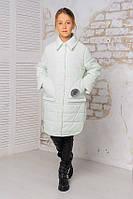 Весенняя удлиненная куртка для девочки