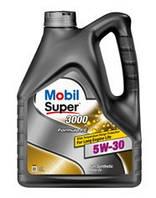Масло моторное Mobil Super 3000 Formula FE 5W-30 API SL/CF (Канистра 4литра)