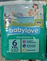 Babylove подгузники-трусики 6  XXL (18-30 КГ) 18 ШТ