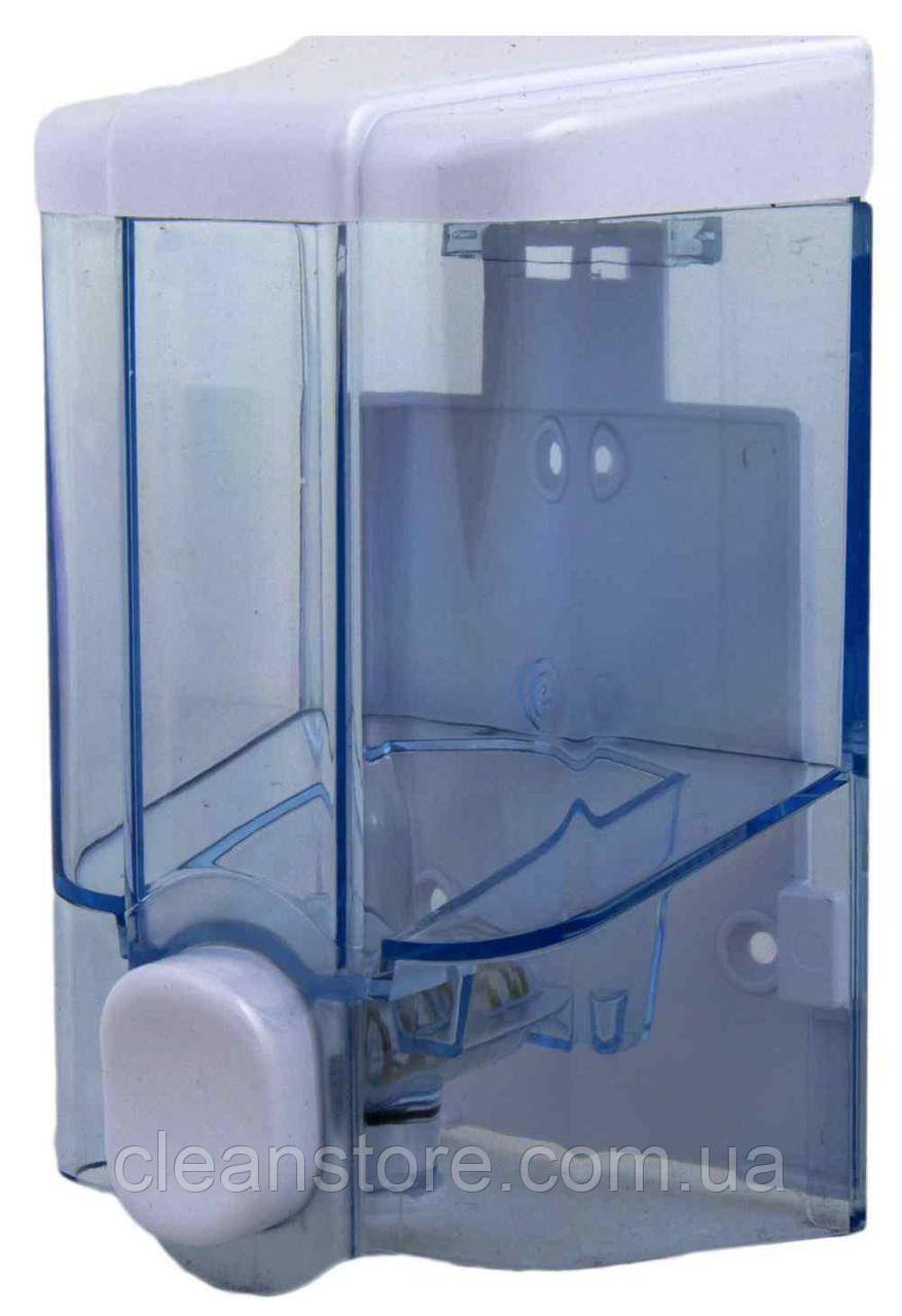 Дозатор жидкого мыла прозрачный, 500 мл