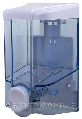 Дозатор жидкого мыла прозрачный, 500 мл, фото 2