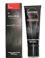 Крем Красный для гладкой кожи туба с губкой Сильвер Silver 75мл