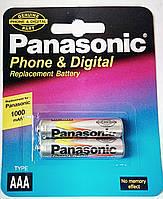 Аккумуляторы Panasonic AAA 1000 mAh