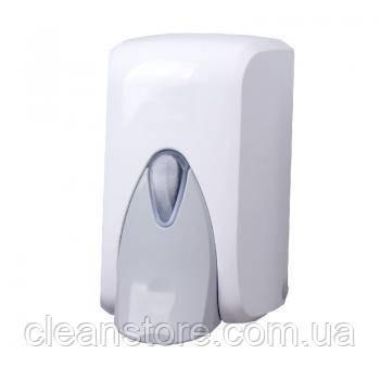 Дозатор жидкого мыла белый, 500 мл, фото 2
