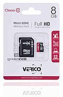 Карта памяти VERICO micro SDHC 8 Gb Class 10