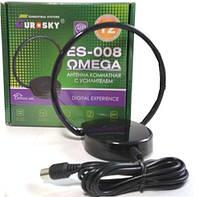 Комнатная антенна для Т2 Eurosky ES-008 (подходит для тюнеров T2)