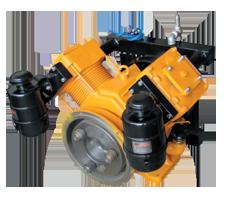 Поршневой компрессор марки Bekomsan модель WIND-102, фото 2