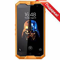 ➤Смартфон 5'' HOMTOM ZOJI Z8, 4/64GB Orange защищенный IP68 8 ядер Камера 16+13 Мп автофокус Батарея 4250 мАч