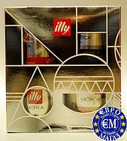 Подарунковий набір Кава мелена Illy 4×125 г