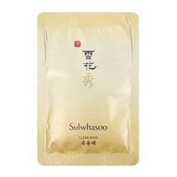Sulwhasoo Отрывная очищающая маска Пробник Skin Clarifying Mask 4ml