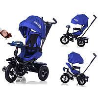 Велосипед-коляска с поворотным сиденьем, надувные колеса TILLY CAYMAN T-381 Синий ***