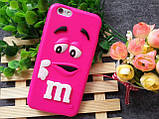 Чехол M&M's для Apple iPhone 6 Plus/6s Plus  фиолетовый, фото 2