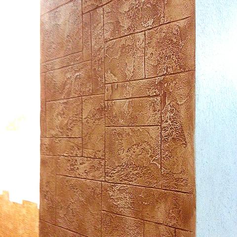 Декоративная штукатурка под натуральный камень материал Структура