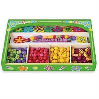 Набор для творчества Ожерелье Цветы Viga Toys 52730
