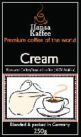 Кофе ароматизированный с ароматом Сливок 250гр.