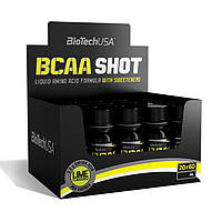 BioTech - BCAA Shot Zero Carb (20 x 60 ml) - lime