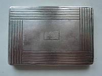 Портсигар, серебро, Австро-Венгрия, 1934г., 146 г