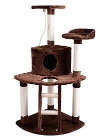 Когтеточка, домики, дряпка для кошек А-03 120 см