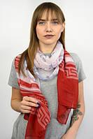 Женский шарф в интересный принт