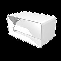 Соединитель прямоугольных воздуховодов с обратным клапаном, 55*110
