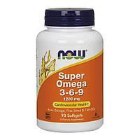 NOW - Super Omega 3-6-9 1200 mg (90 softgels)