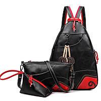 Модный рюкзак в винтажном стиле