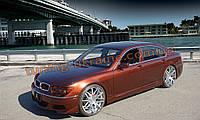 Комплект аэродинамического обвеса в стиле-BMW Liner для BMW 7 E65 2001-2008 дорестайл