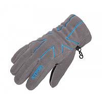 Перчатки женские флисовые с утеплителем Norfin Women Gray