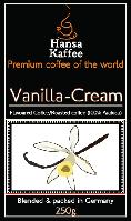 Кофе с ванильно-сливочным ароматом 250 гр.