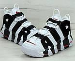 """Мужские кроссовки Nike Air More Uptempo """"Scottie Pippen"""" 41-45рр. Живое фото (Реплика ААА+), фото 3"""