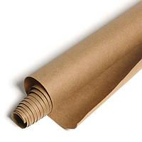 Крафт бумага ЮТЭК в рулоне плотностью 80 г/м2 25 м.п коричневая КБР-25(2 рулона)