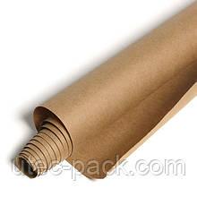 Крафт папір ЮТЭК в рулоні щільністю 80 г/м2 25 м. п коричнева КБР-25(2 рулони)