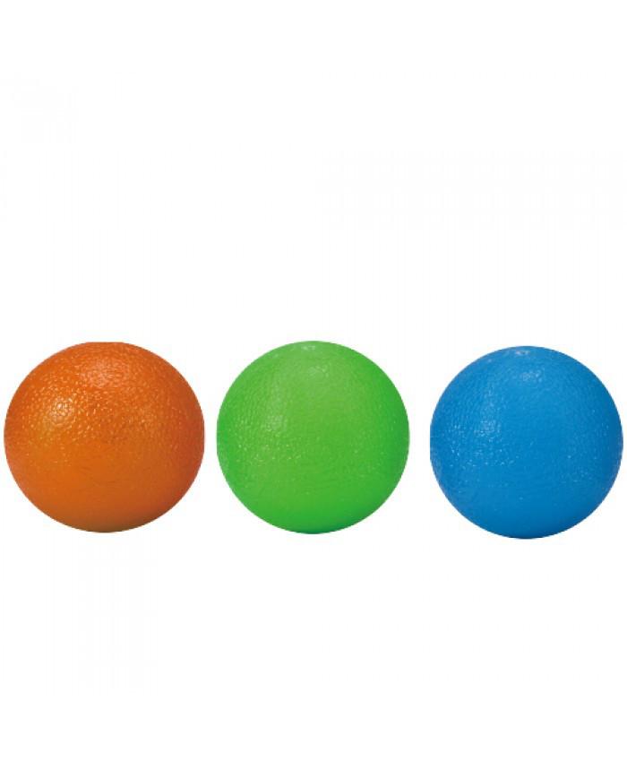Мячики-тренажеры для кисти набор 3 шт. GRIP BALL LS3311