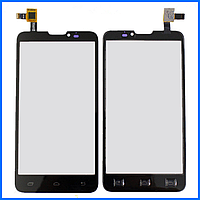 Тачскрин (сенсор) для Prestigio PAP5300 DUO MultiPhone, Pioneer E90W, Micromax Canvas Doodle A111, черный