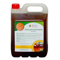 "Льняное масло для дерева ""GreenTherm"" 5 л, фото 1"