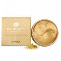 Petitfee Gold & Snail Hydrogel Eye Patch Гидрогелевые патчи