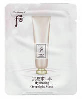 The history of Whoo Ночная увлажняющая маска Hydrating Overnight Mask 4ml