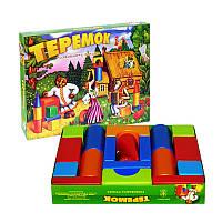Теремок в коробке малый, Размер: 310х415х70 мм Вес: 660 г, игрушка, конструктор