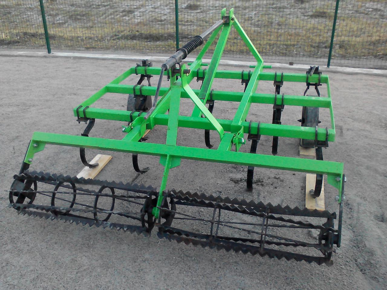Культиватор начіпний 1,5 м з катком на мінітрактор Бомет Польща