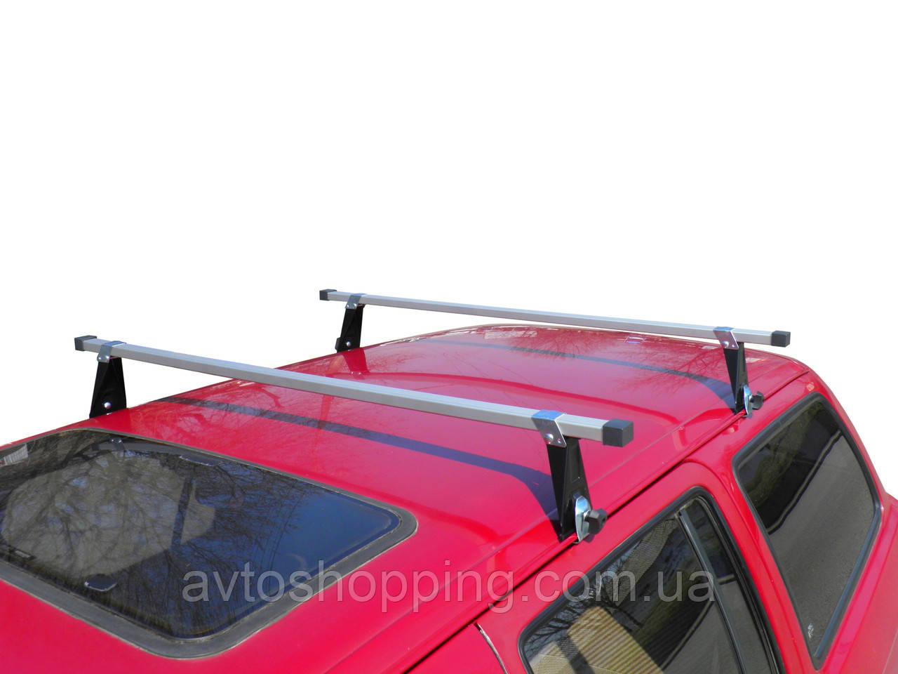 Багажник на крышу UNI ЛЮКС, для автомобилей с водостоком ВАЗ, Таврия, Кадет