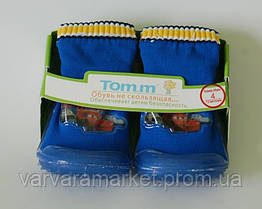 Пинетки-носки ТОМ.М арт.3211 синий McQueen, 12мес, 11.0