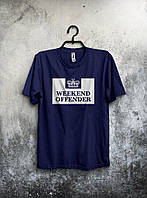 Хайповая футболка Weekend Offender (темно-синий), Реплика