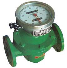 Лічильник ОГМ-I-80 М (100-833 л/хв) з механічним дисплеєм (сталеві шестерні)