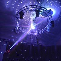 Прожектор для зеркального шара от сети, пинспот белый луч